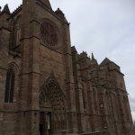 la cathédrale de rodez juste à coté de lhotel