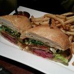 Gourmet Steak & Cheese Sandwich