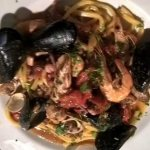 """""""Scialatielli"""" with seafood"""