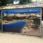 entrada da lagoa