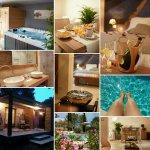 La suite avec jacuzzi et sauna privatif