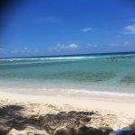 White soft sand, calm seas