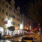Hotel Milbor bei Nacht