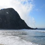 looking south at Pfeiffer beach