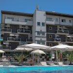 Hotelansicht vom Pool