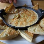 Try the Seafood dip!