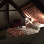 Master bedroom in the Gallery Cottage