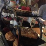 Splendid afternoon tea in modern edgy surroundings!