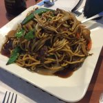 the large beef lo mein.