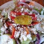 Side Greek Salad! Huge!
