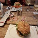 Burger und Wein, warum denn nicht?