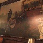 mural evokes a bygone age