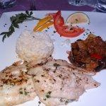 filet de st pierre riz et ratatouille