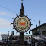 Easy walk to Fishermans Wharf from hotel.