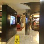 Lobby entry area