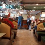 A look inside of the I84 diner.