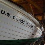 Old wooden U.S.C.G. Boat