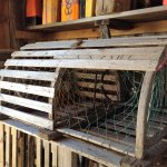 lobster trap in a shop