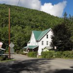 Cedar Run Inn from the Rail Trail