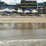 Maravilhosa praia em frente ao Hotel Planeta Itapuã