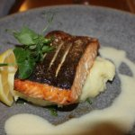 McGrory's salmon main course