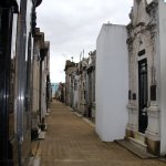 aisles and aisles of eerily beautiful mausoleums