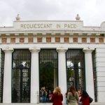 front entrance of recoleta cemetery