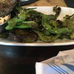 blistered peppers for HH with a great dipping sauce