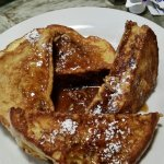 Creme Brule French toast an pumpkin pancakes