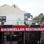 Biesmiellah restaurant.