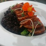 Ahi Tuna with Purple Rice