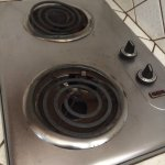 kitchenette stove