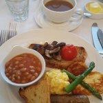 Fabulous veggie breakfast