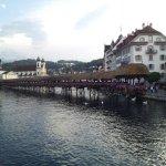 Palace Hotel, Luzerne,Switzerland Mount Pilatis, Lake Luzerne, Lion of Luzerne, Chapel  Bridge