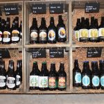 We stock local wine, beer and ciders