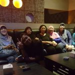 Happy hour in karaoke room