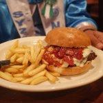 super dooper italian burger.