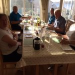 Fabulous breakfasts overlooking Lamlash Bay