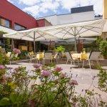 Sonniger und ruhig gelegener Gastgarten
