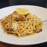 Seafood Pasta! yum yum