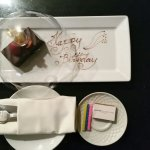 Another surprise for hubby when we returned to our suite room!