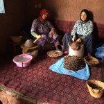Ladies Producing Argan Oil