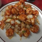 Jade Palace - hot & spicy shrimp
