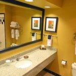 Yep - the bathroom