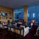 Concierge Lounge - private seating area