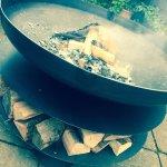 New fire pit/BBQ