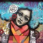 New street art by KINMX, created on CNB16