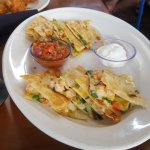 lobster and shrimp quesadillas
