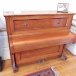 James Joyce's piano .