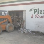 Pias' is closed and being demolished - Sept 2016